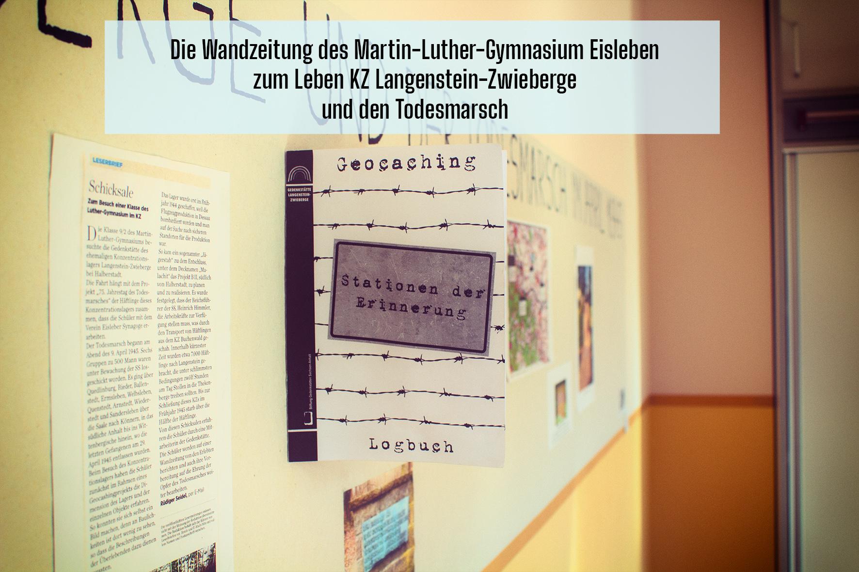 Wandzeitung intro